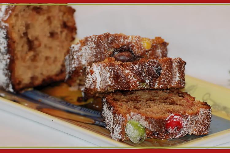 Cake aux M&M's
