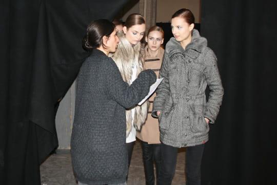 Fashion week prêt-à-porter automne-hiver 2011 : les coulisses du défilé Aganovich 4