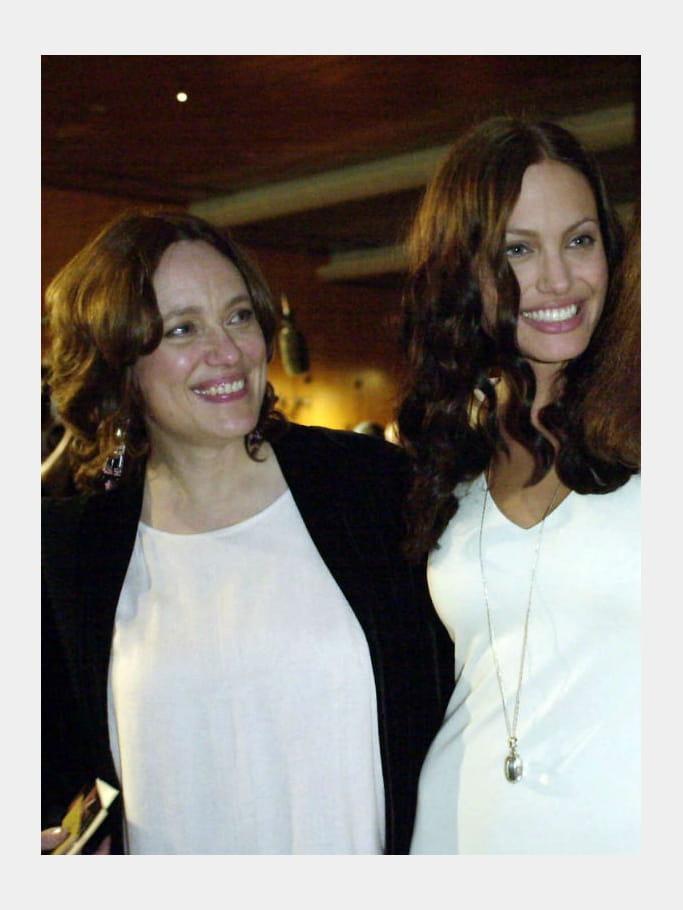 Angelina Jolie et sa mère Marcheline Bertrand