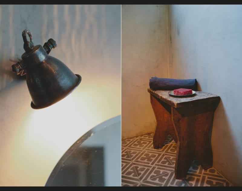 La salle de bains en détails