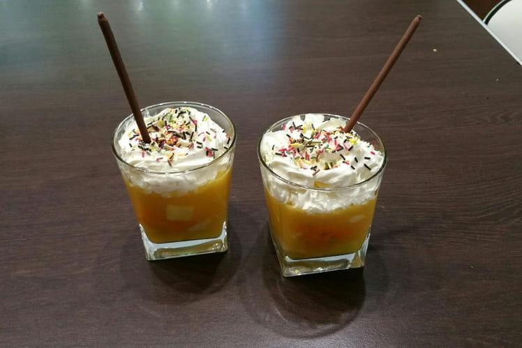 Cappuccino de fruits exotiques