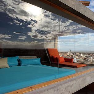 l'hôtel dar hi à nefta dans le sud-ouest tunisien.