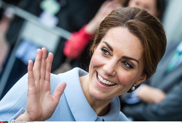 Kate Middleton: le chignon volumineux