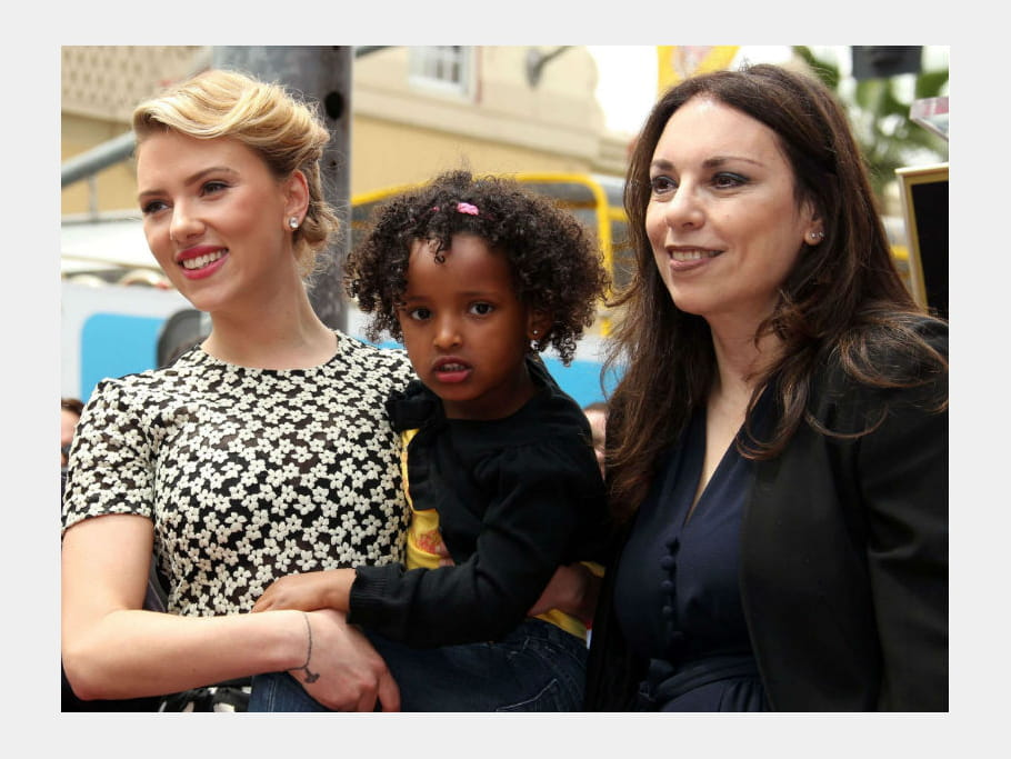 Scarlett Johansson et sa mère Melanie Sloan