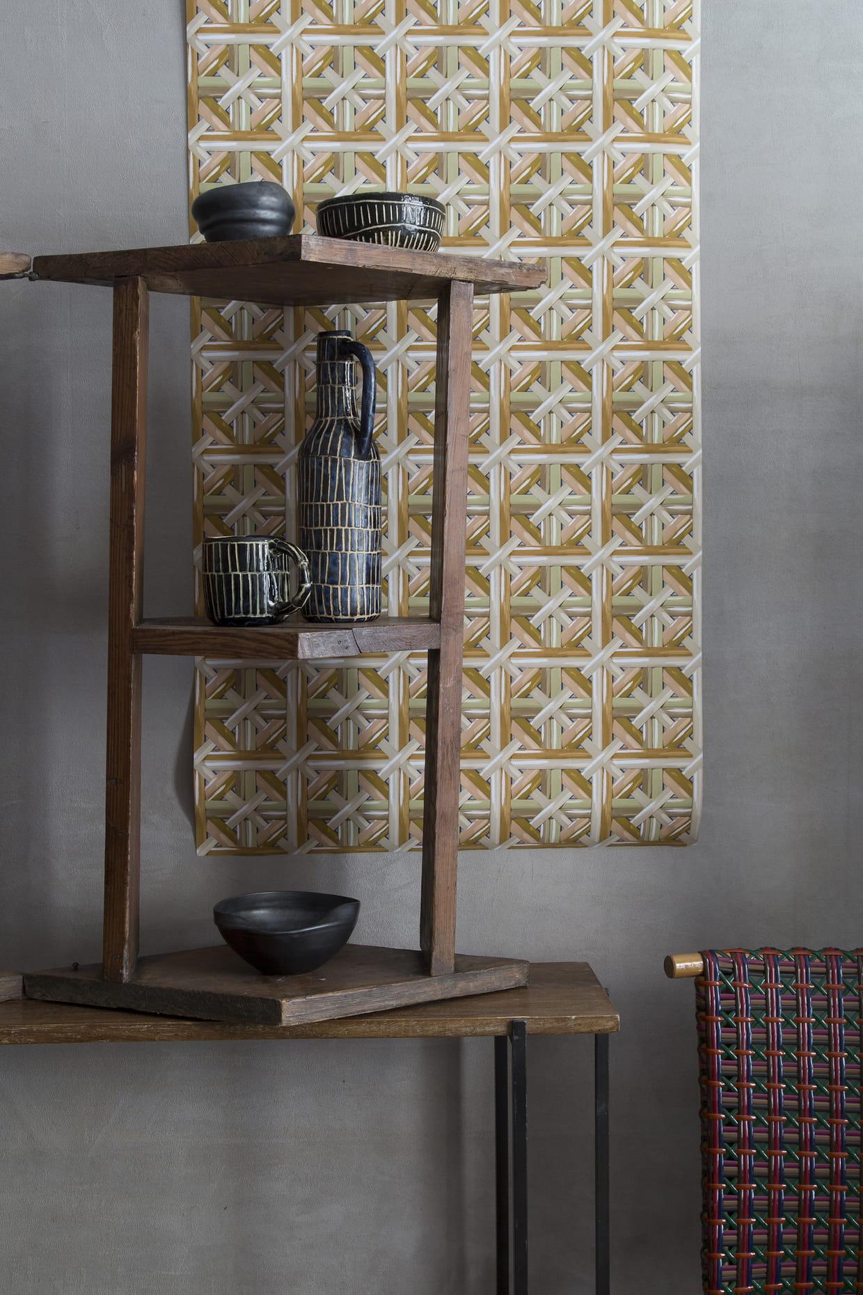 papier peint philippe model maison pour koziel. Black Bedroom Furniture Sets. Home Design Ideas