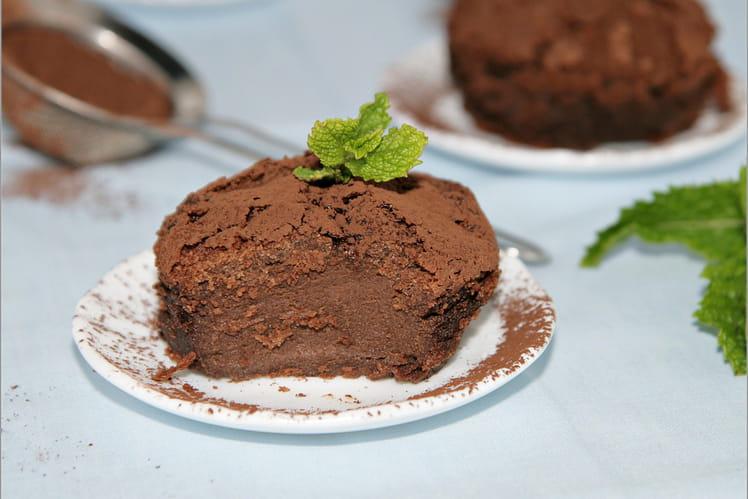 Pudding au chocolat et petit beurre