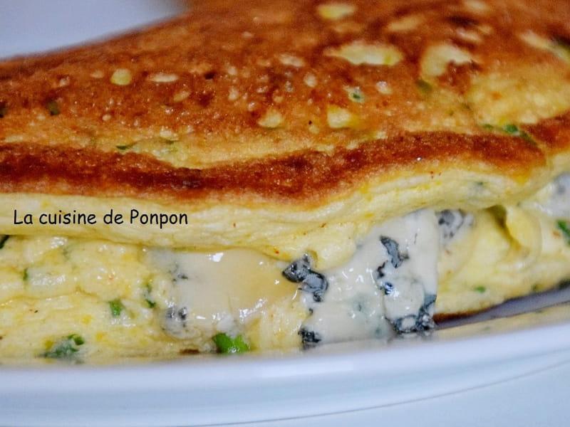 Recette De Omelette Aerienne A La Ciboulette Et Fourme D Ambert
