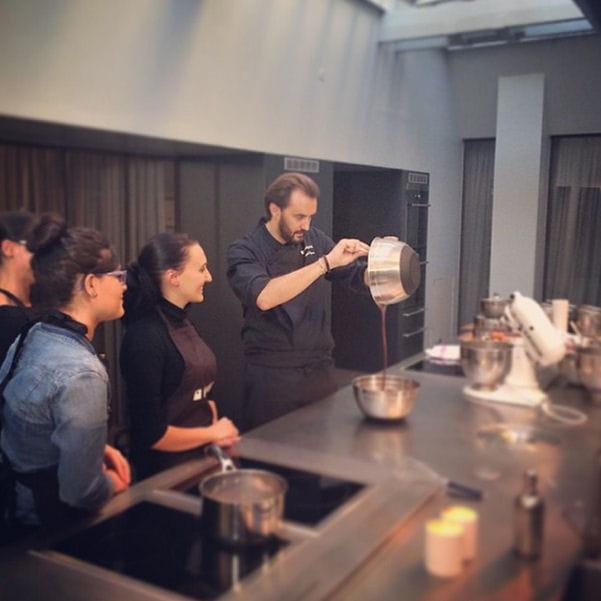 Cyril Lignac En Plein Cours - Cours de cuisine cyril lignac