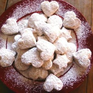 sablés aux amandes (kourabiédès)