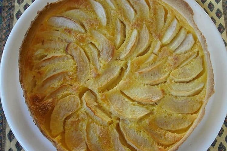 Tarte aux pommes saveur vanille