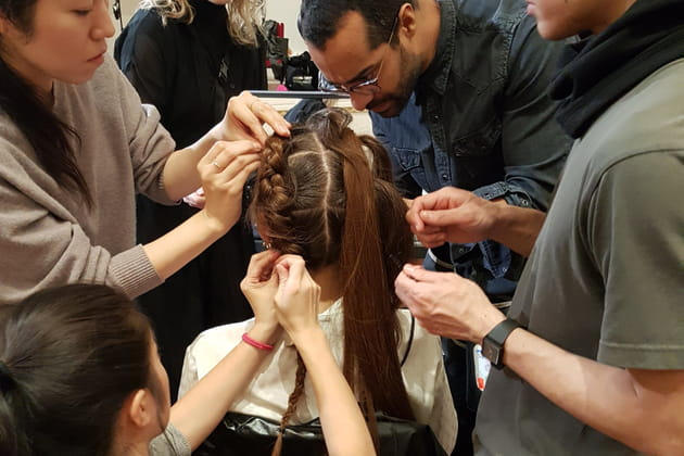 Une coiffure qui demande de la technique
