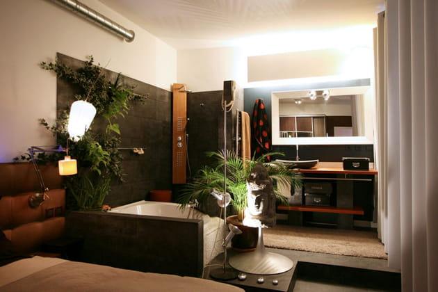 ambiance zen. Black Bedroom Furniture Sets. Home Design Ideas