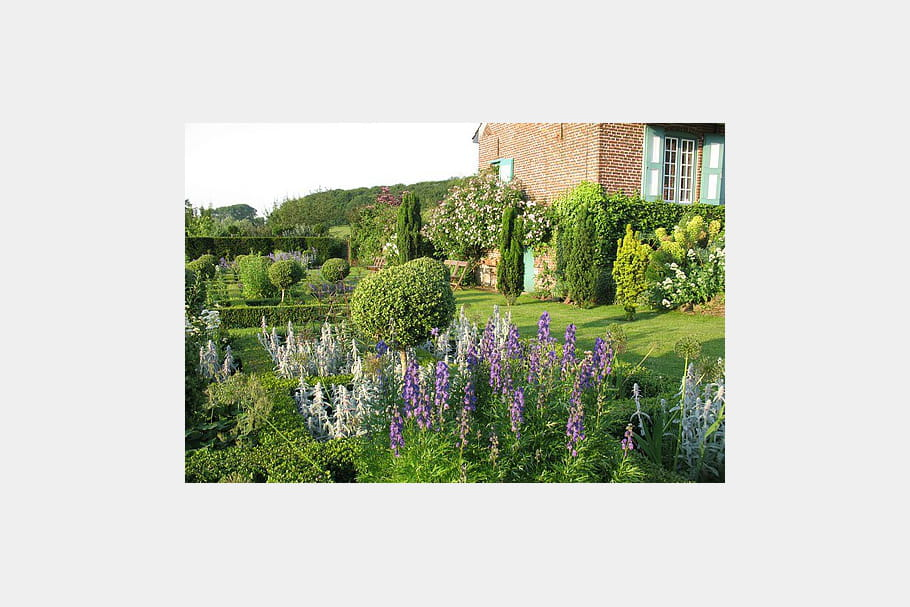 La chambre bleue ou le jardin renaissance par excellence for Jardin renaissance