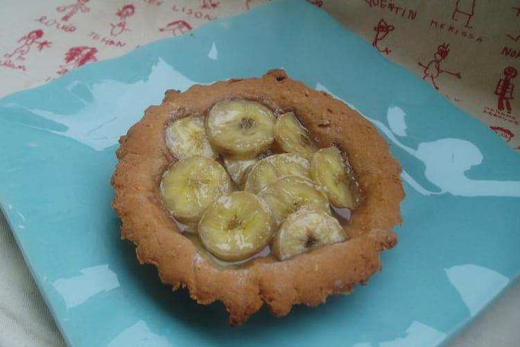 Tartelettes simples à la banane