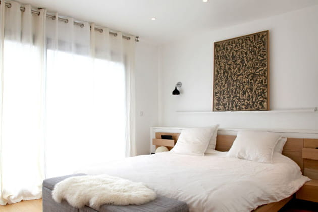 Une chambre design et douillette