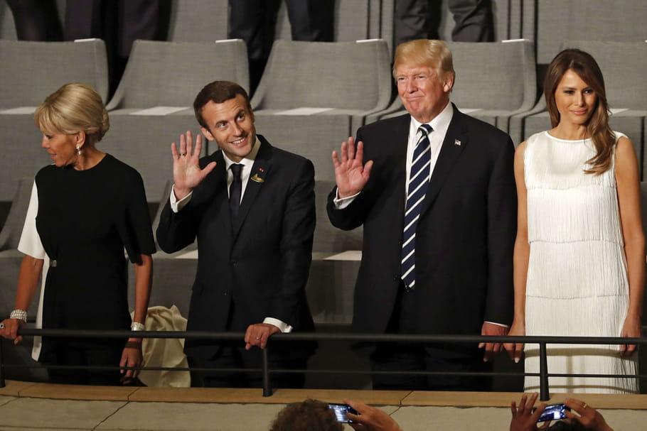 Brigitte Macron auprès de Melania Trump, au sommet du G20et du style