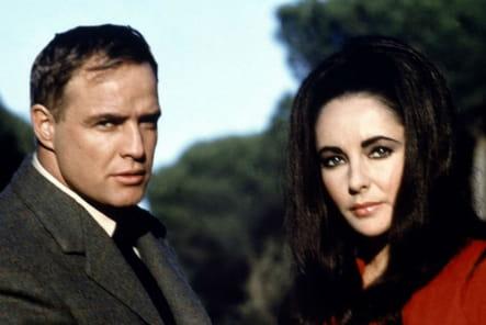 Mort Marlon Brando Reflets dans un oeil d'or, 1967