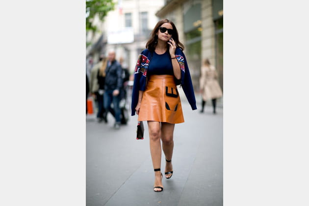 Street looks fashion week haute couture : pointu
