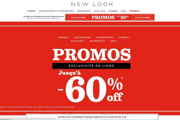 Le e-shop de New Look