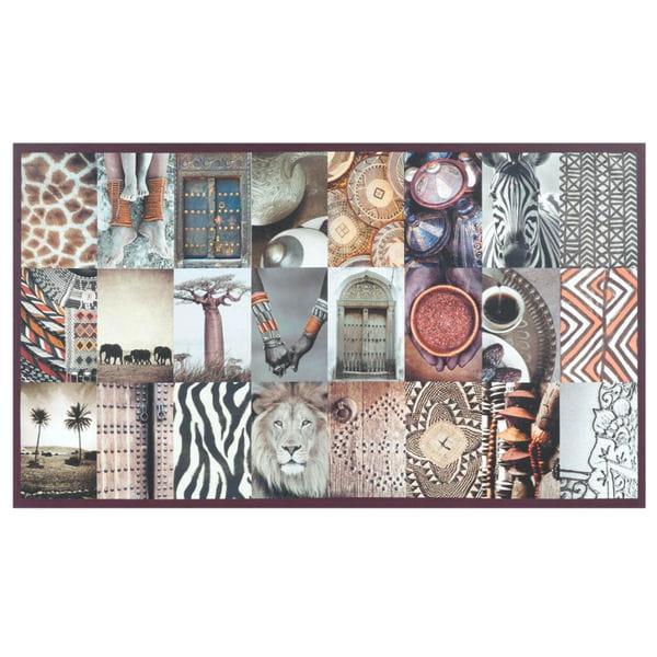 toile patchwork africain de maisons du monde maisons du monde
