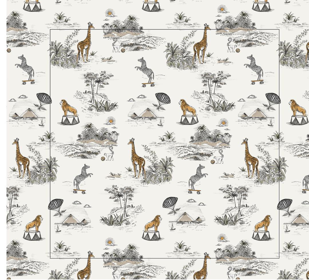 papier-peint-safari-monoprix