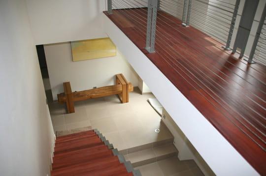 A l'étage