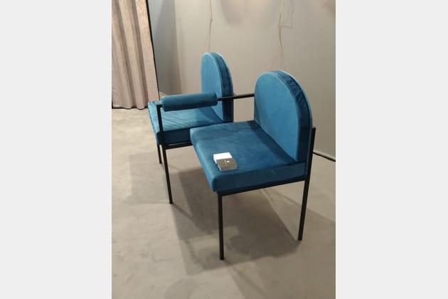 Les chaises d'attente d'Atelier Aveus*