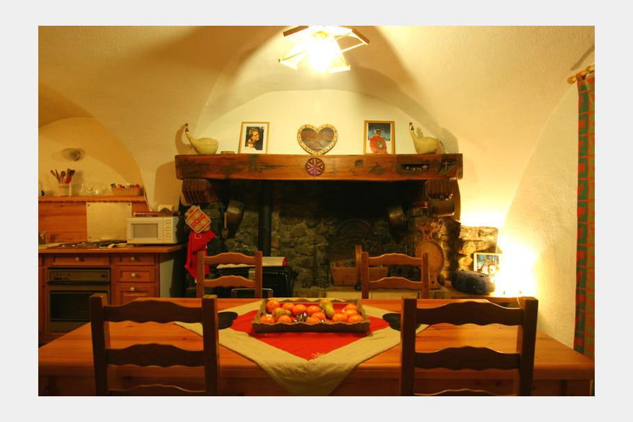 Ambiance chaleureuse en cuisine for Salon ambiance chaleureuse