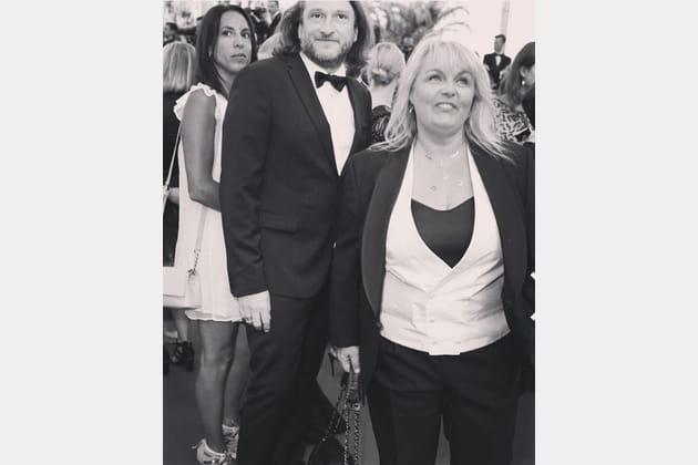 Valérie Damidot a monté les marches avec son compagnon Régis