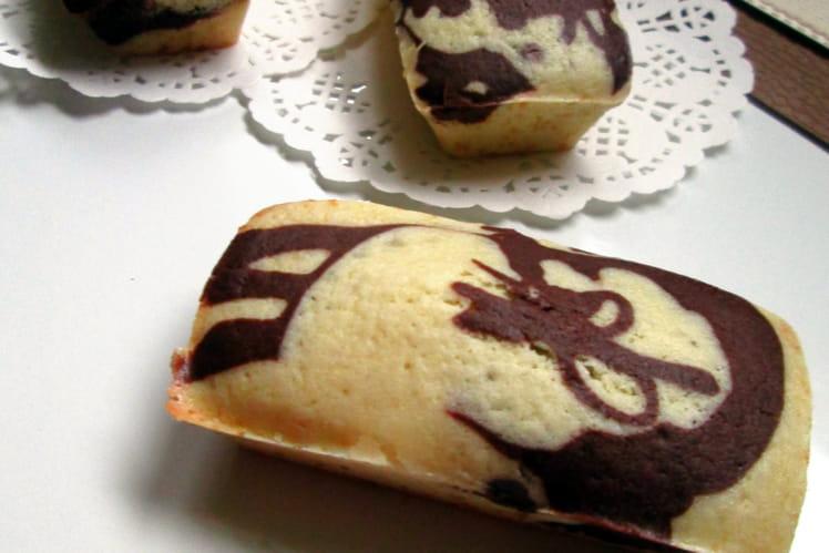 Muffins marbrés choco-amande