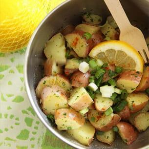 salade de pommes de terre citronnées