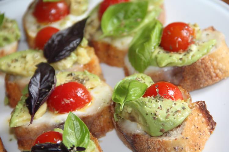 Crostinis à l'Italienne