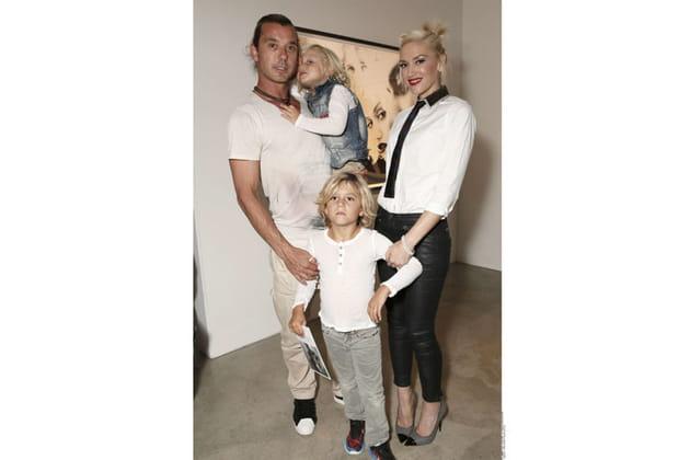 Gwen Stefani et ses fils Kingston et Zuma