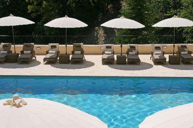 La piscine, un balcon sur la nature