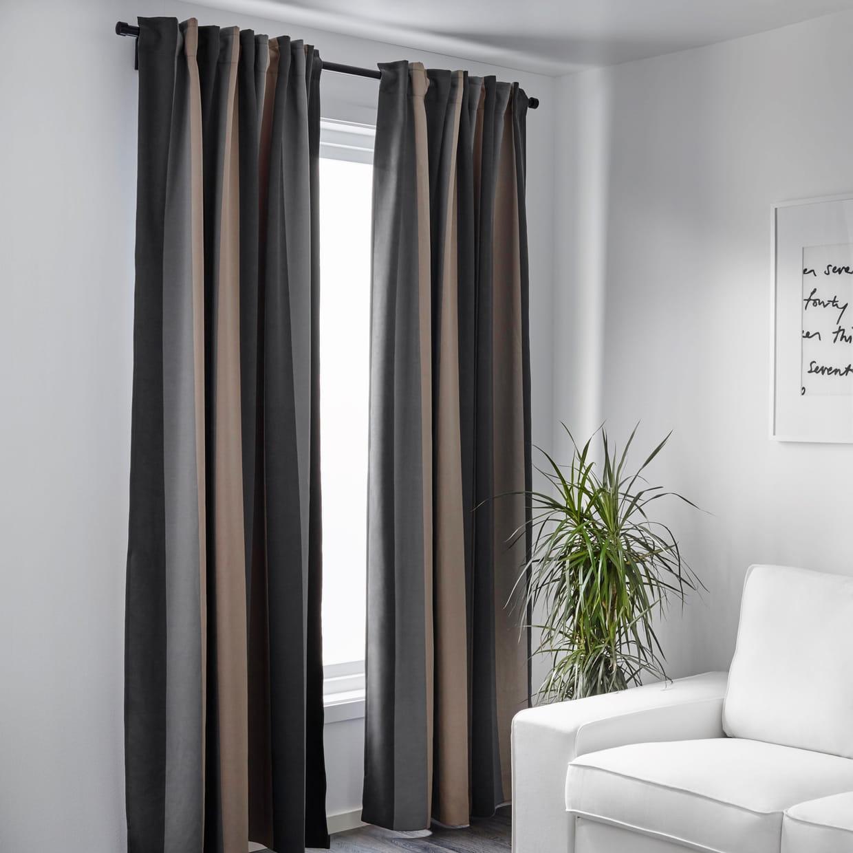 rideaux praktlilja ikea. Black Bedroom Furniture Sets. Home Design Ideas