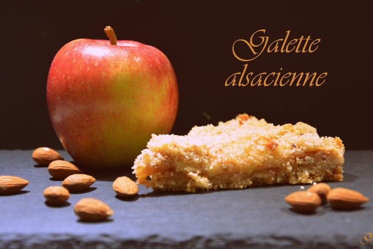 Galette alsacienne aux pommes