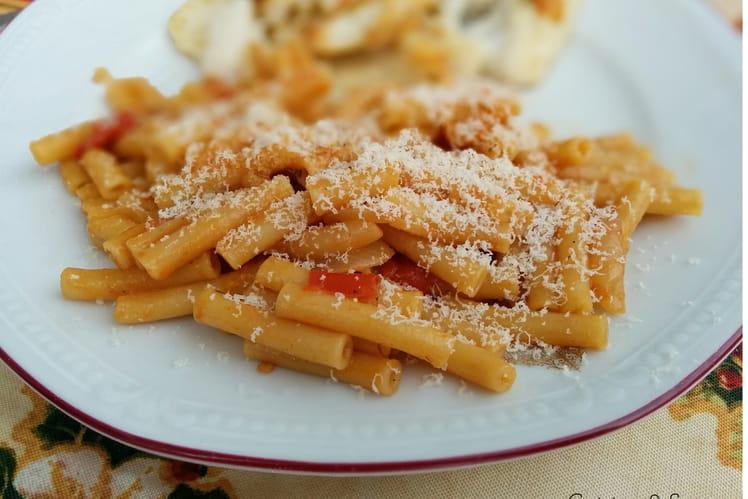 One pot pasta aux tomates et basilic