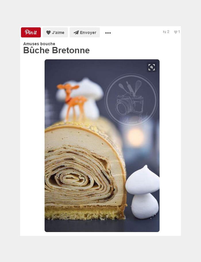 Bûche Bretonne