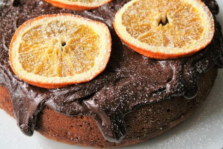 Cake à l'orange sans gluten, sans lait et sans oeufs