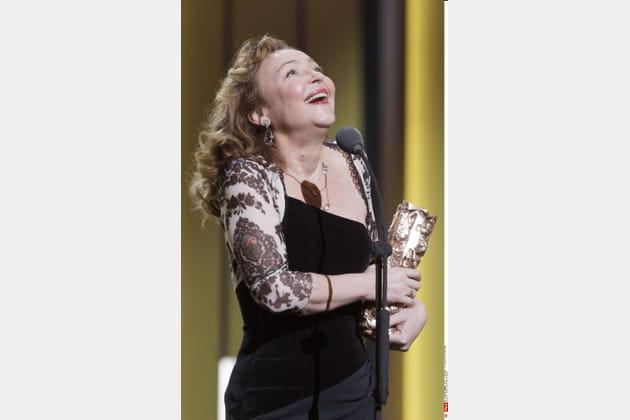 """Catherine Frot au comble du bonheur, Meilleure actrice dans la peau de la cantatrice """"Marguerite"""""""