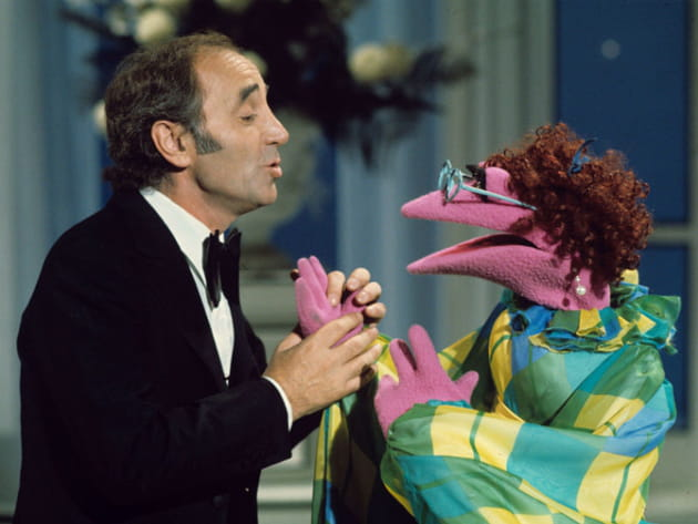 Charles Aznavour au Muppet Show