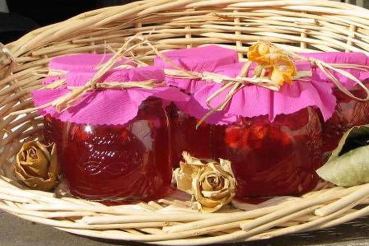 Confiture de fraises de Wépion
