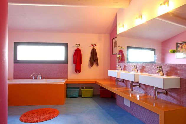 La salle de bains des enfants - Deco salle de bain enfant ...