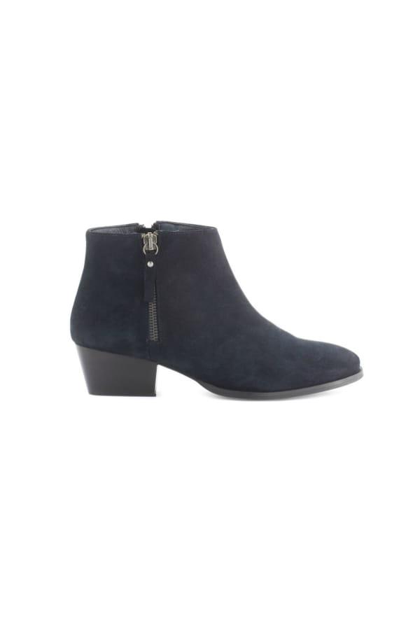 personnalisé nouveau design profiter du prix de liquidation Low boots bleu marine de Minelli