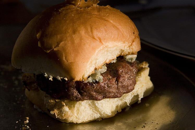 Hamburger au bleu