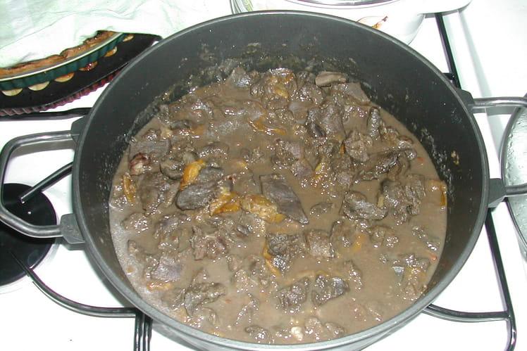 Estoufade de chevreuil aux mirabelles