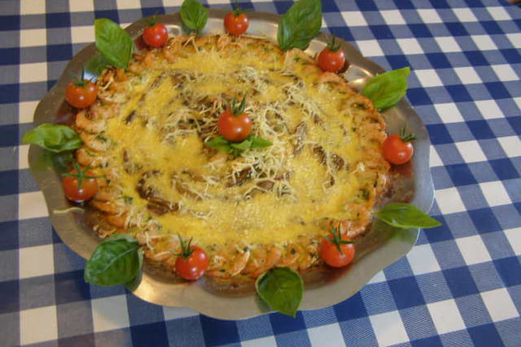 Ma tarte aux champignons de Paris