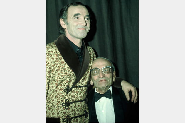 Charles Aznavour et son papa