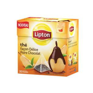 thé façon délice poire chocolat de lipton