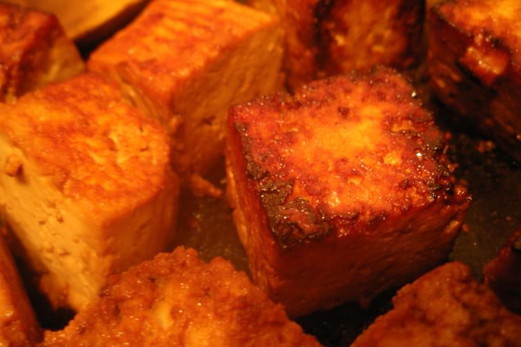 Tofu caramélisé